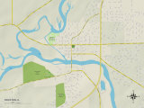 Political Map of Rockton, IL Photo