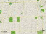 Political Map of Villa Park, IL Photo
