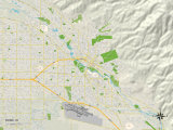 Political Map of Boise, ID Print