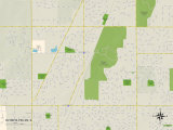 Political Map of Olympia Fields, IL Photo