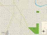 Political Map of Phoenix, IL Photo