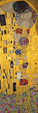 De kus, ca. 1907 (detail) Posters van Gustav Klimt