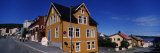 Buildings at the Roadside, Harstad, Troms, Nord-Norge, Norway Photographic Print by  Panoramic Images