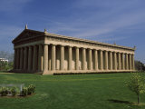 Art Museum in a Park, the Parthenon, Centennial Park, Nashville, Davidson County, Tennessee, USA Photographic Print