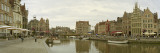 Buildings at the Waterfront, the Graslei, the Koornlei, Ghent, East Flanders, Belgium Photographic Print by  Panoramic Images
