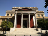 Facade of a Museum, Museum of the City of Athens, Athens, Attica, Greece Photographic Print