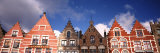 View of Colorful Buildings, Main Square, Bruges, West Flanders, Flemish Region, Belgium Photographic Print by Panoramic Images 