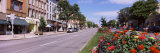 Buildings Along a Road, Canandaigua, Ontario County, New York State, USA Photographic Print by  Panoramic Images
