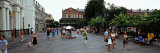 Tourists Walking on a Street, Riverwalk Area, New Orleans, Louisiana, USA Photographic Print by  Panoramic Images