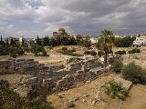 Ruins of a Cemetery, Keramikos Cemetery, Athens, Attica, Greece Photographic Print