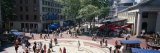 Tourists in Market, Faneuil Hall Marketplace, Quincy Market, Boston, Suffolk County, Massachusetts Photographic Print by Panoramic Images 