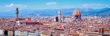View of Buildings in a City, Florence, Tuscany, Italy Photographic Print by  Panoramic Images