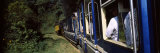 Passengers Traveling in a Steam Train, Nilgiri Mountain Railway, Coonoor Railway Station, Coonoor,  Photographic Print by  Panoramic Images
