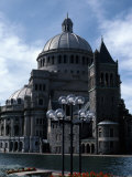 The Mother Church at Waterfront, Christian Science Center, Boston, Suffolk County, Massachusetts Photographic Print