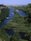 View of a River, Snake River, Idaho, USA Photographic Print
