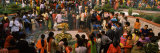 Devotees Worshipping in a Temple on Shivratri Festival, Delhi, India Photographic Print by  Panoramic Images