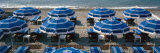 Beach Umbrellas on the Beach, Nice, Alpes-Maritimes, Provence-Alpes-Cote D'Azur, France Photographic Print by Panoramic Images