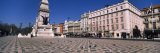 Obelisk in Front of Buildings, Praca Dos Restauradores, Lisbon, Portugal Photographic Print by Panoramic Images