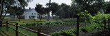 Garden in Front of House, Kingsley Plantation, Fort George Island, Jacksonville, Florida Photographic Print by  Panoramic Images