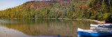 Reflection of Trees in a Lake, Heart Lake, Skagit County, New York State, USA Photographic Print by  Panoramic Images