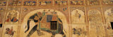 Mural on a Wall, Mandawa Haveli, Mandawa, Jhunjhunu District, Rajasthan, India Photographie par Panoramic Images