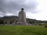 Middle of the World Monument, Mitad Del Mundo, Quito, Ecuador Photographic Print