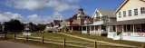 Houses in a Town, Oak Bluffs, Martha's Vineyard, Dukes County, Massachusetts, USA Photographic Print by  Panoramic Images