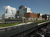 Buildings in a City, High Line Park, Manhattan, New York City, New York State, USA Photographic Print