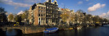 Buildings Along a Canal, Amsterdam, Netherlands Photographic Print by Panoramic Images 