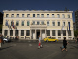 Facade of a Town Hall, Athens City Hall, Kotzia Square, Athens, Attica, Greece Photographic Print