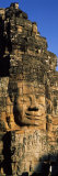 Face Carved on Rocks in a Temple, Bayon Temple, Angkor, Cambodia Photographie par Panoramic Images 