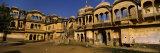 Facade of a Palace, Nawalgarh, Jhunjhunu District, Shekhawati, Rajasthan, India Photographic Print by  Panoramic Images