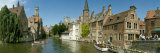Buildings at the Waterfront, Rozenhoedkaai, Bruges, West Flanders, Belgium Photographic Print by  Panoramic Images