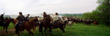 Union Vs. Confederacy Pea Ridge Civil War Battle Reenactment, Ozark Mountains, Arkansas, USA Photographic Print by  Panoramic Images