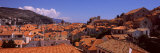 Houses in a Town, Dubrovnik, Dalmatia, Croatia Photographic Print by  Panoramic Images