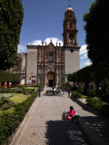 Facade of a Church, Church of San Francisco, San Miguel De Allende, Guanajuato, Mexico Photographic Print