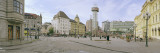 Buildings in a City, Jernbanetorget, Oslo, Norway Photographic Print by  Panoramic Images