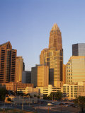 Buildings in a City, Charlotte, Mecklenburg County, North Carolina, USA Photographic Print