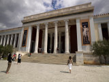 Facade of a Museum, National Archaeological Museum, Athens, Attica, Greece Photographie