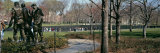 Tourists in a Park, Vietnam War Memorial, Washington DC, USA Photographic Print by  Panoramic Images