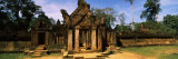 Facade of a Temple, Banteay Srei, Angkor, Cambodia Photographic Print by  Panoramic Images