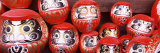 Statues of Daruma in a Temple, Shorinzan Daruma-Ji, Takasaki, Gunma Prefecture, Honshu, Japan Photographic Print by  Panoramic Images