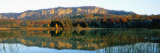 Reflection of Mountains in a Lake, Lac De Narlay, Jura, Franche-Comte, France Photographic Print by  Panoramic Images