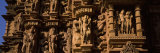 Sculptures on Wall of Temple, Khajuraho Temple, Chhatarpur District, Madhya Pradesh, India Photographic Print by  Panoramic Images