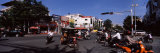 Traffic in a City, Phnom Penh, Cambodia Photographic Print by Panoramic Images 