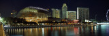Concert Hall at the Waterfront, Esplanade Theater, the Singapore Flyer, Singapore River, Singapore Photographic Print by  Panoramic Images