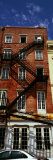 Fire Escapes on Building, Coyote Ugly Saloon, French Market, French Quarter, New Orleans, Louisiana Photographic Print by  Panoramic Images