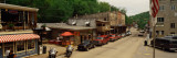 Cars on the Roadside, Eureka Springs, Ozark Mountains, Carroll County, Arkansas, USA Fotografie-Druck von  Panoramic Images