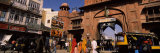 Busy Street Scene in a City, Bikaner, Rajasthan, India Photographic Print by  Panoramic Images