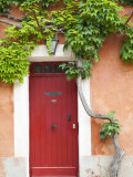 Traditional Architecture in Roussillon, Provence, France Papier Photo par Nadia Isakova